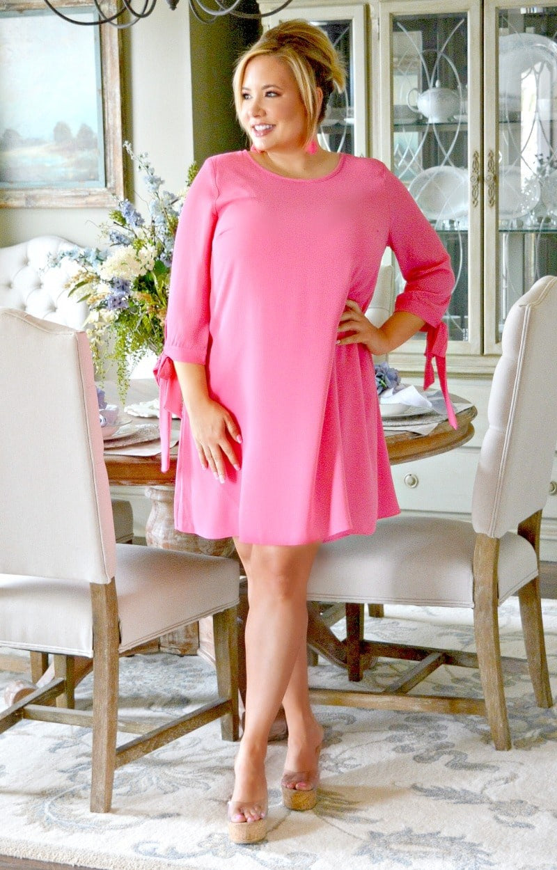 Run The World Dress - Pink