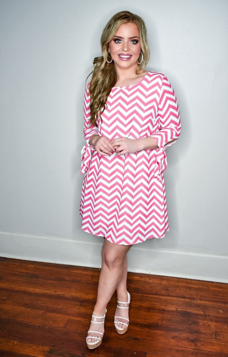 Load image into Gallery viewer, Ready For Tonight Print Dress - Pink