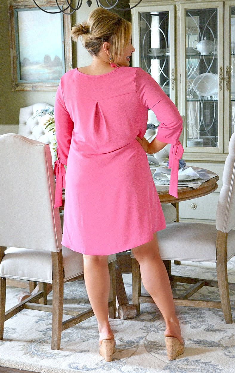 Load image into Gallery viewer, Run The World Dress - Pink