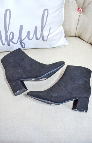 My Sidekick Ankle Booties - Black