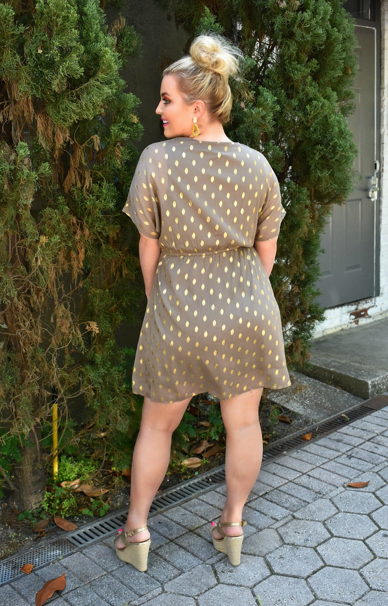 Load image into Gallery viewer, Never Gets Old Print Dress - Mocha