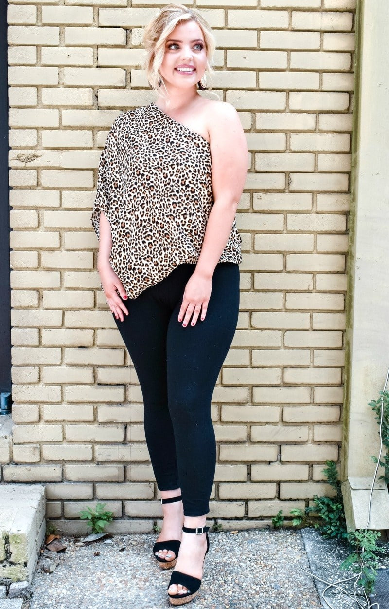 Feel The Fun Leopard Print Top