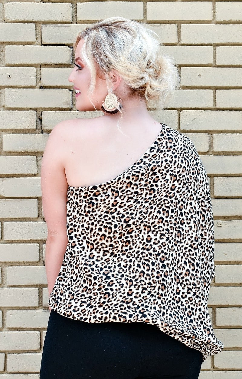Load image into Gallery viewer, Feel The Fun Leopard Print Top