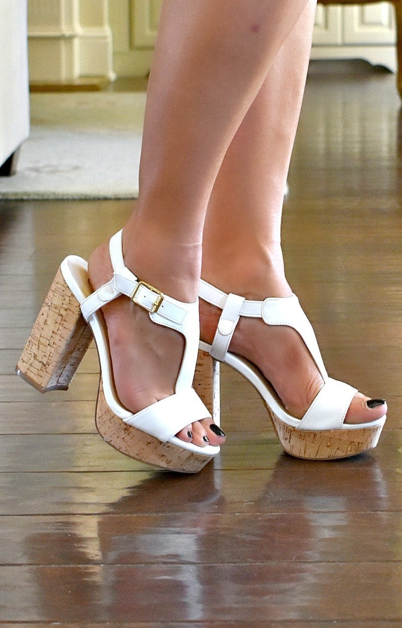 Load image into Gallery viewer, Ready Now Heels - White
