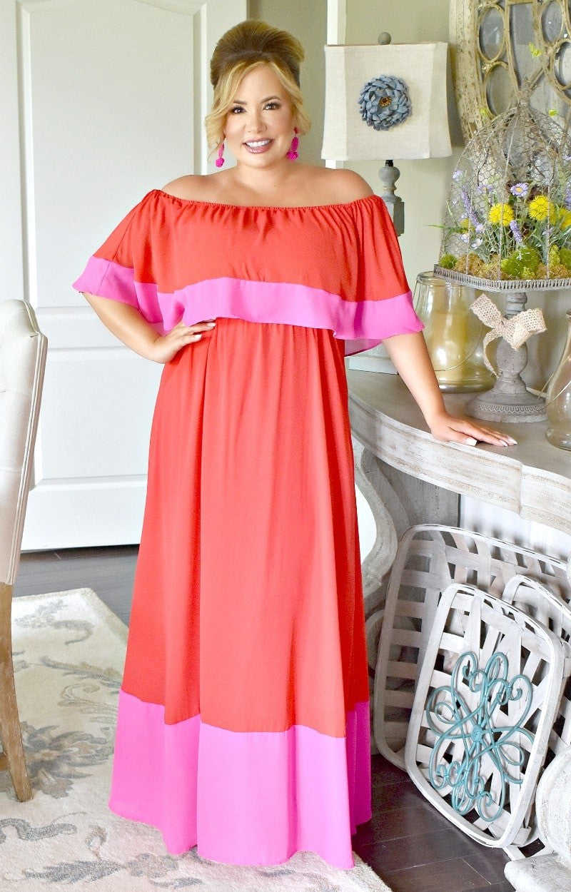More To Come Maxi Dress