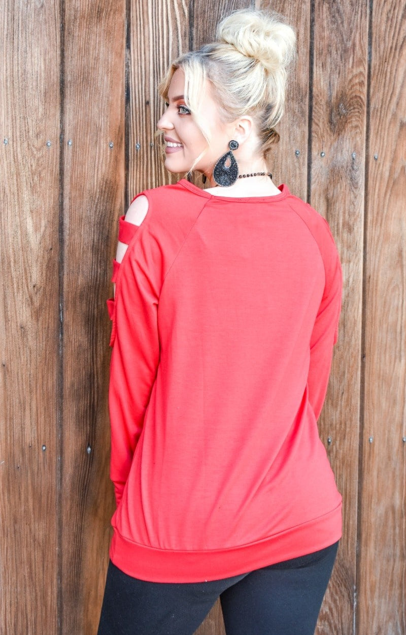 A New Day Top - Red