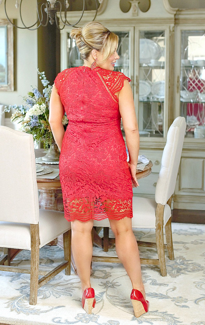 Load image into Gallery viewer, Major Commitment Dress - Red