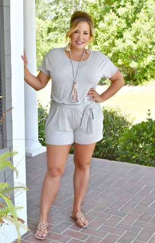 Comfort First Romper - Gray