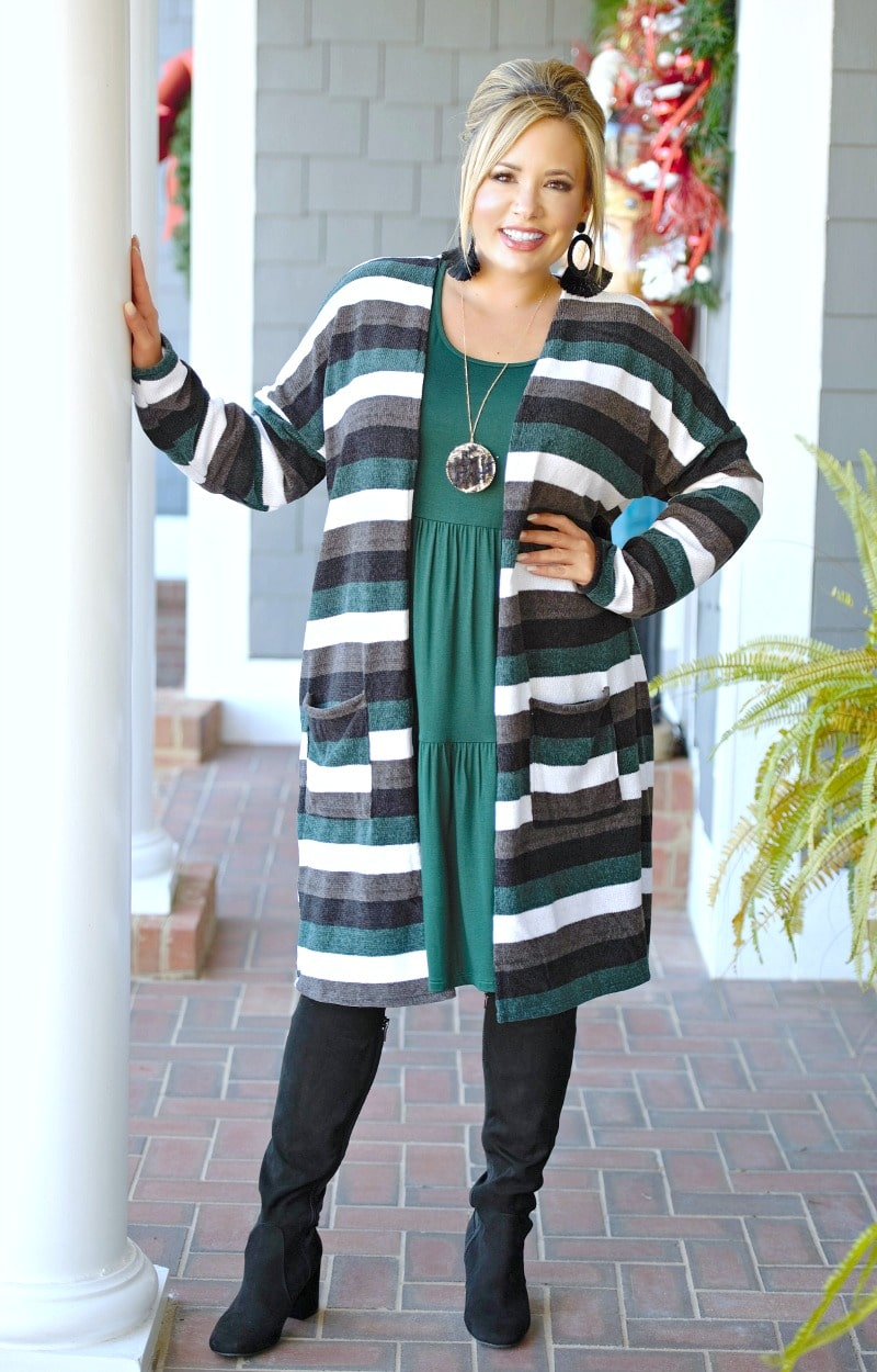 Load image into Gallery viewer, A Must Have Striped Cardigan - Multi