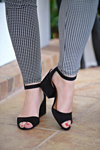 Best By Far Ankle Strap Heels - Black