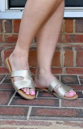 My Turn Sandals - Gold