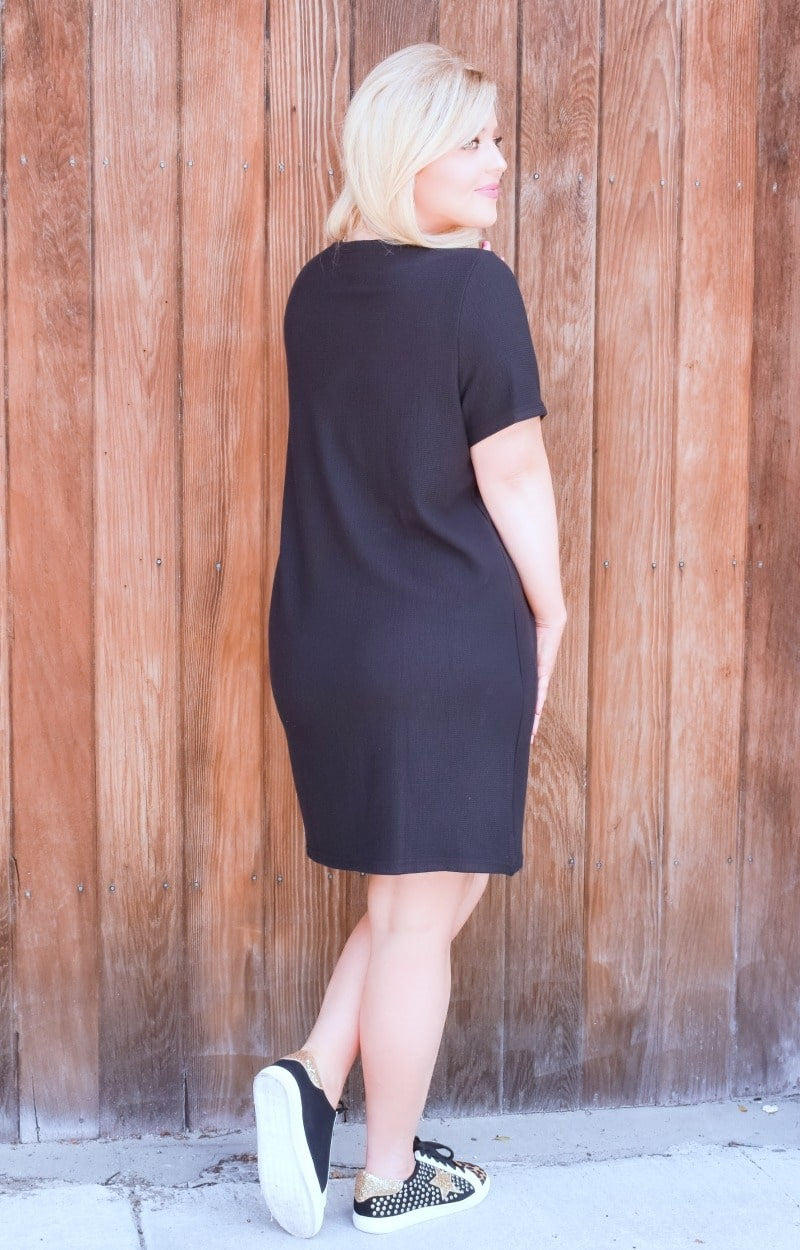 Feels Like Heaven Dress - Black