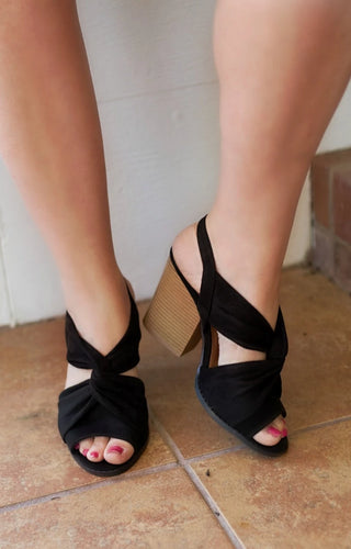 New Heights Heels - Black