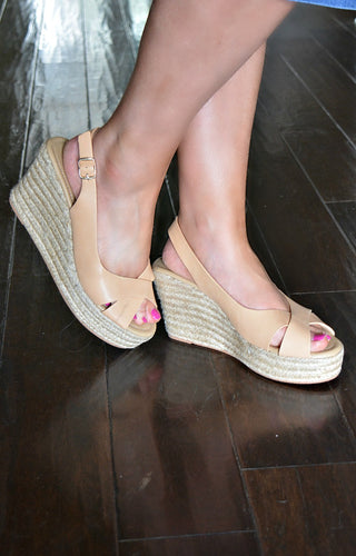 Touch & Go Wedges - Natural