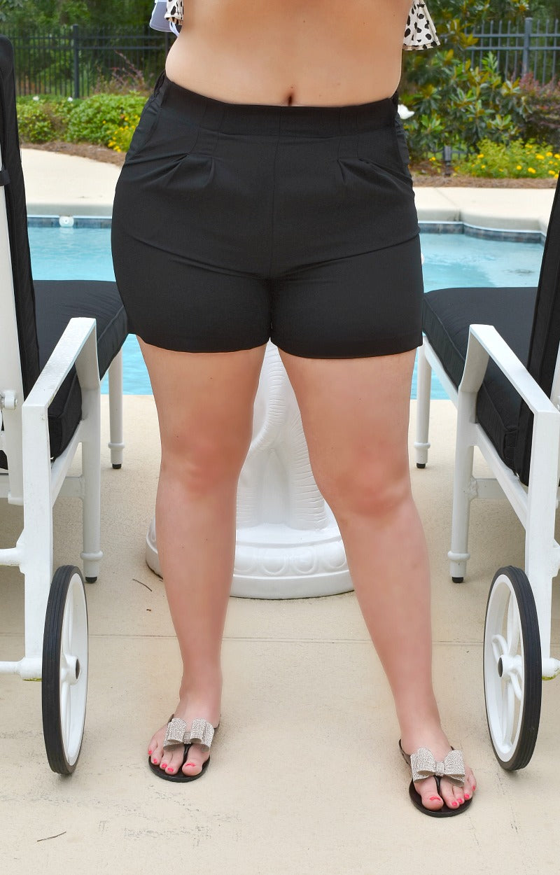 Load image into Gallery viewer, In Her Element Shorts - Black