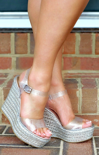 Memory Lane Wedges - Silver