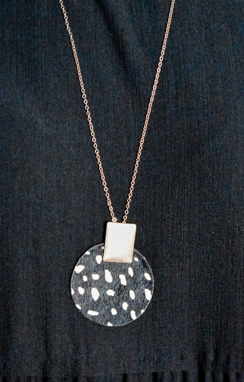 Just Like Me Necklace - Black