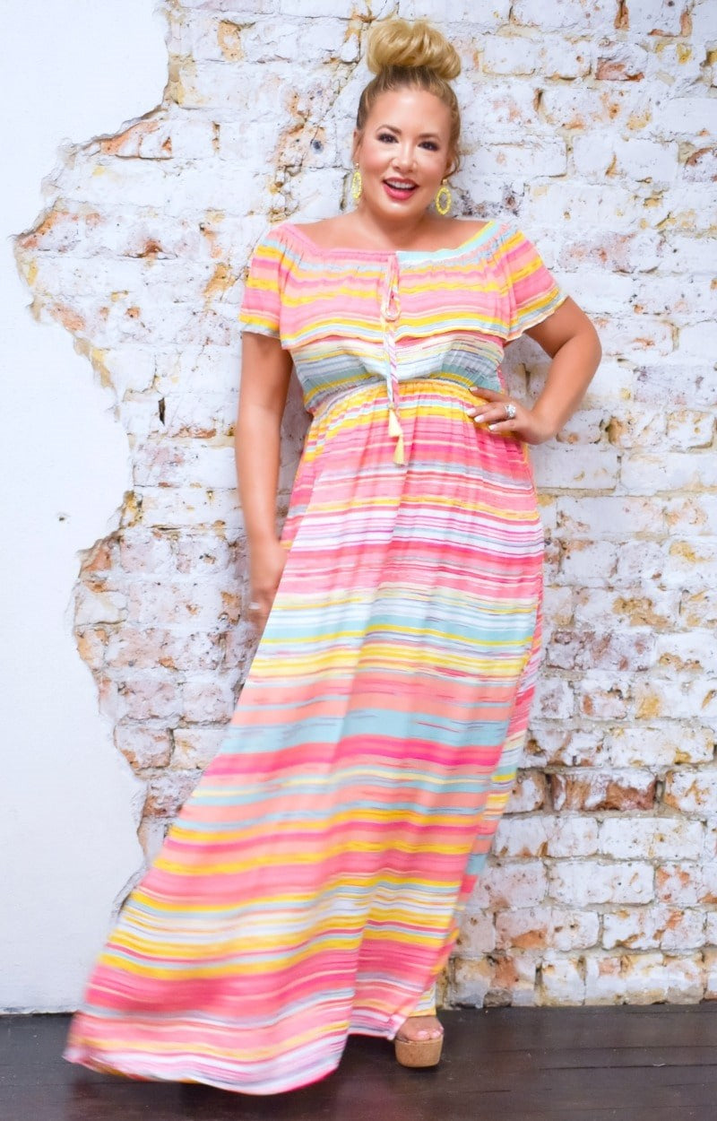 Load image into Gallery viewer, Always In Awe Maxi Dress