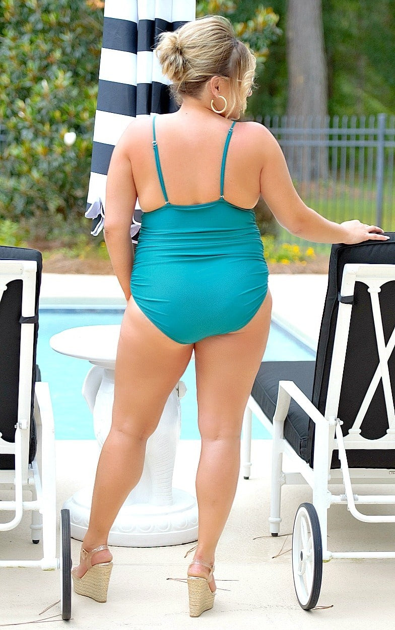 Load image into Gallery viewer, Going To Bali One Piece Swimsuit - Jade