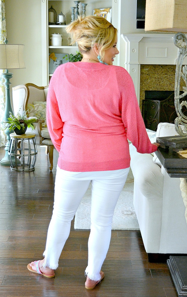 Load image into Gallery viewer, Talk That Talk Sweater - Hot Pink