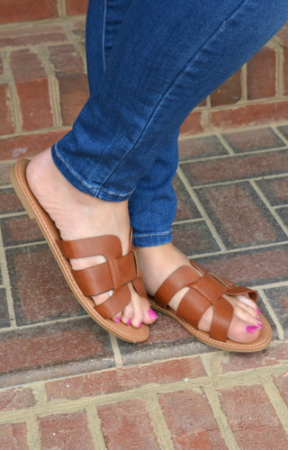 Always In Motion Sandals - Tan