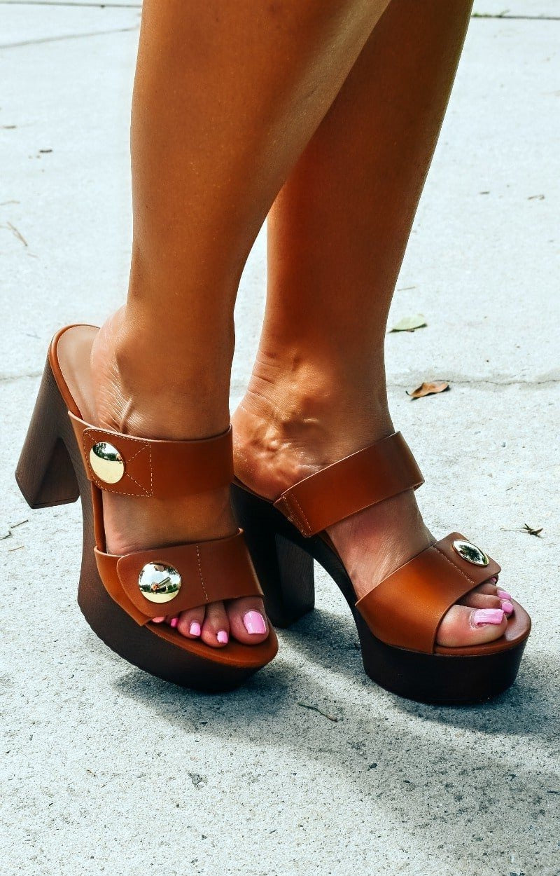 Hello Lovely Heels - Tan