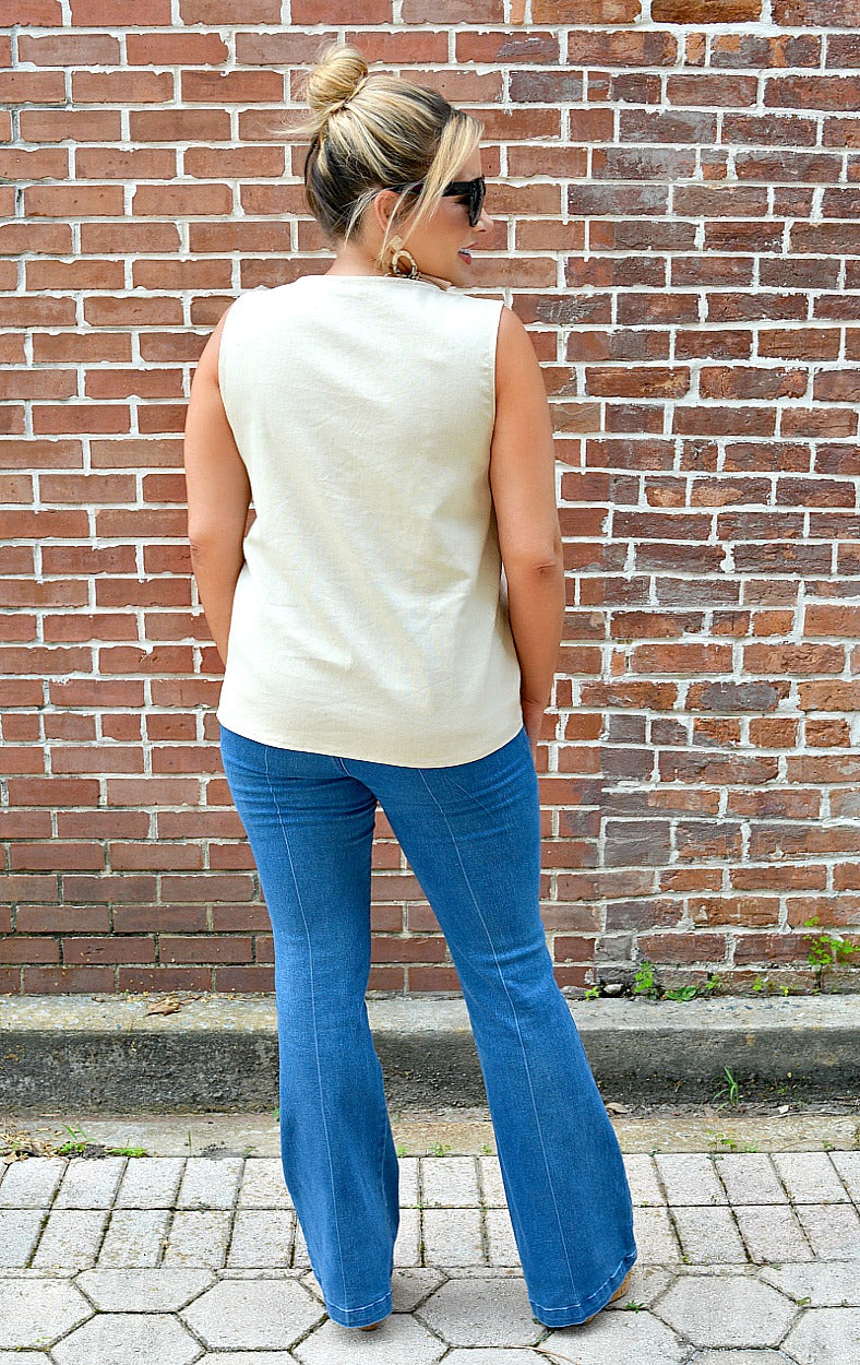 The Perfect Opportunity Tank - Taupe