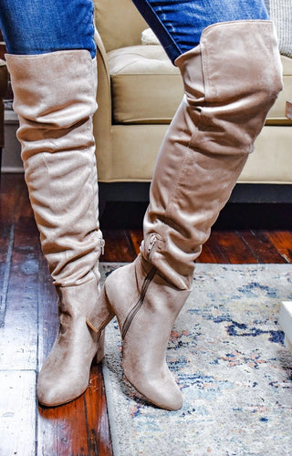 CHINESE LAUNDRY - Canyons Over The Knee Boots - Taupe