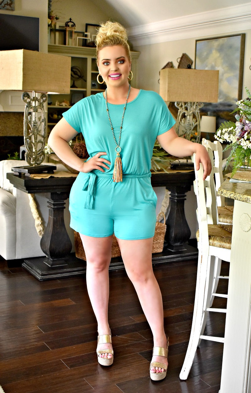 Load image into Gallery viewer, Comfort First Romper - Mint