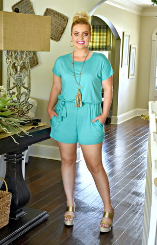 Comfort First Romper - Mint