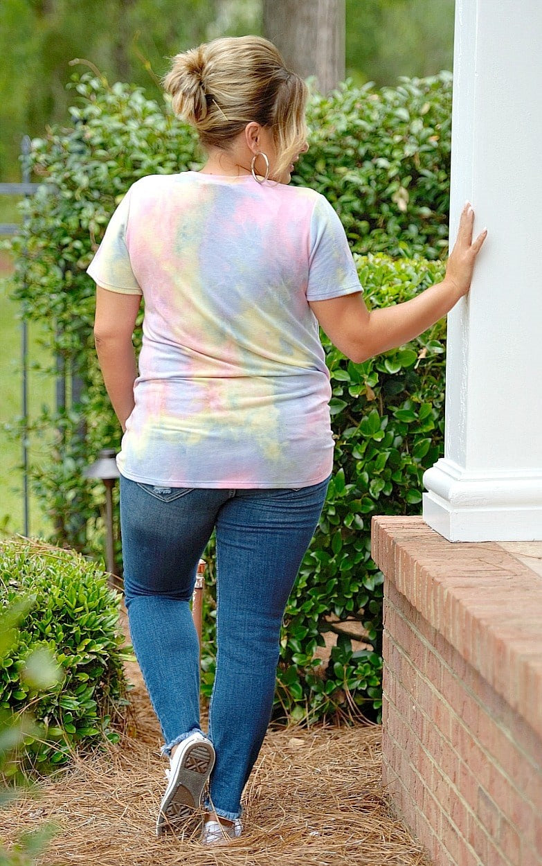Load image into Gallery viewer, New Sensations Tie Dye Top