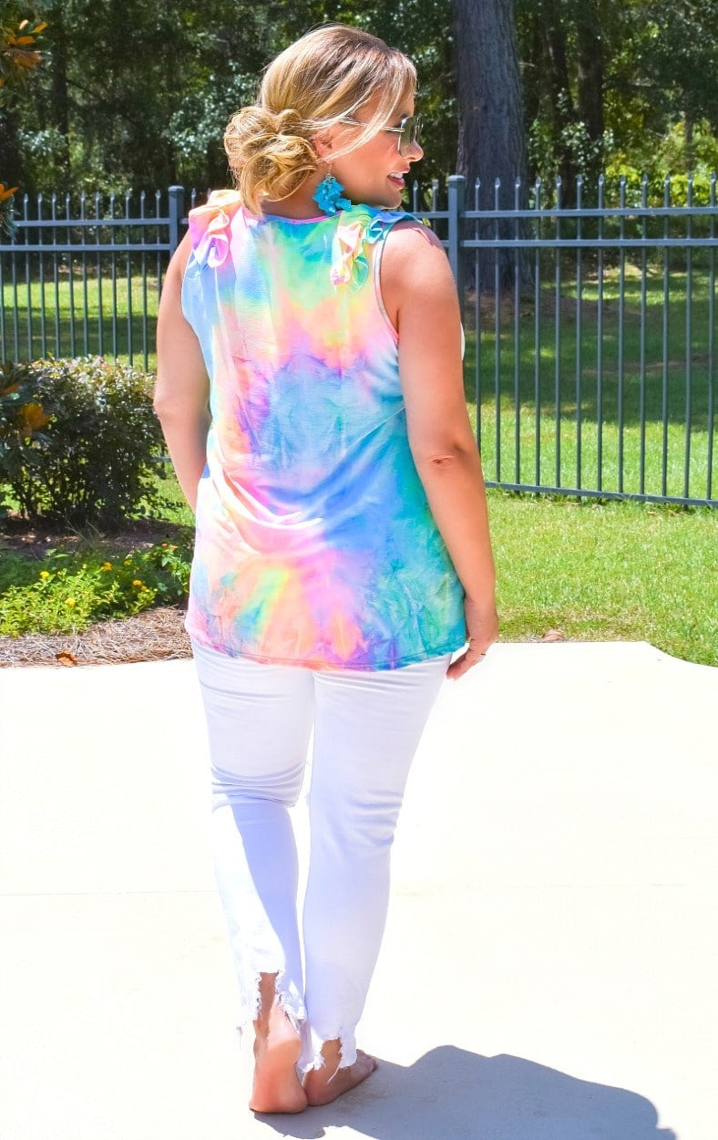 Load image into Gallery viewer, Instant Fun Tie Dye Top