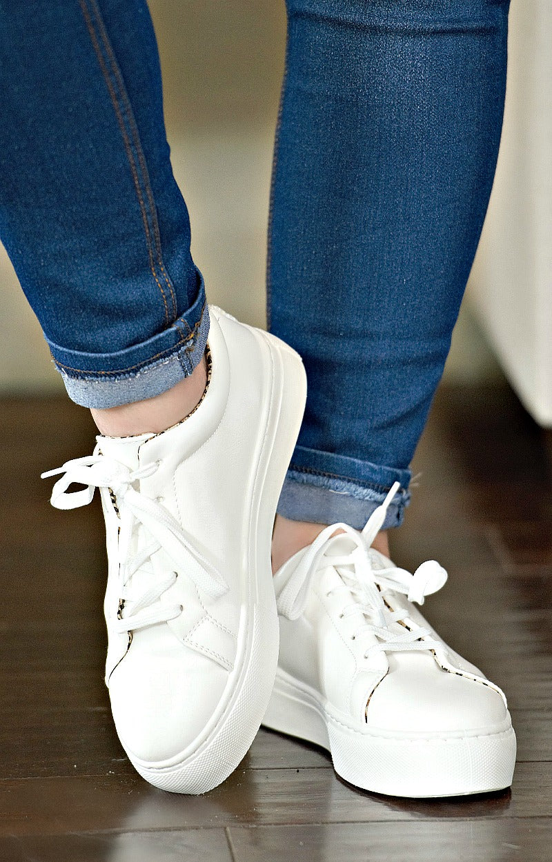 Keep On Running Sneakers - White