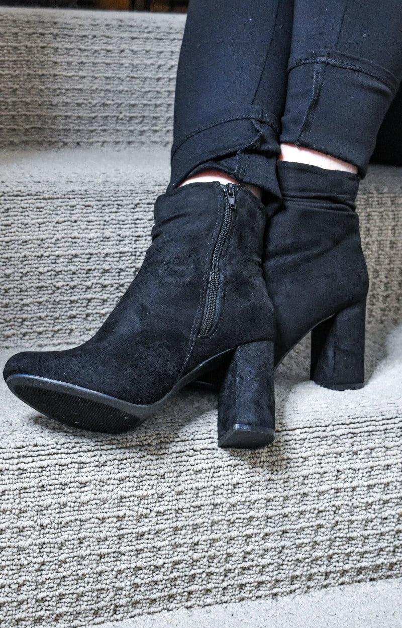 Dreaming Of Forever Booties - Black