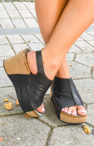 Be Who You Are Wedges - Black