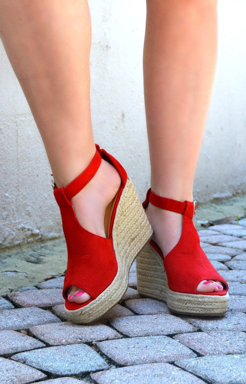 Running Back Wedges - Red