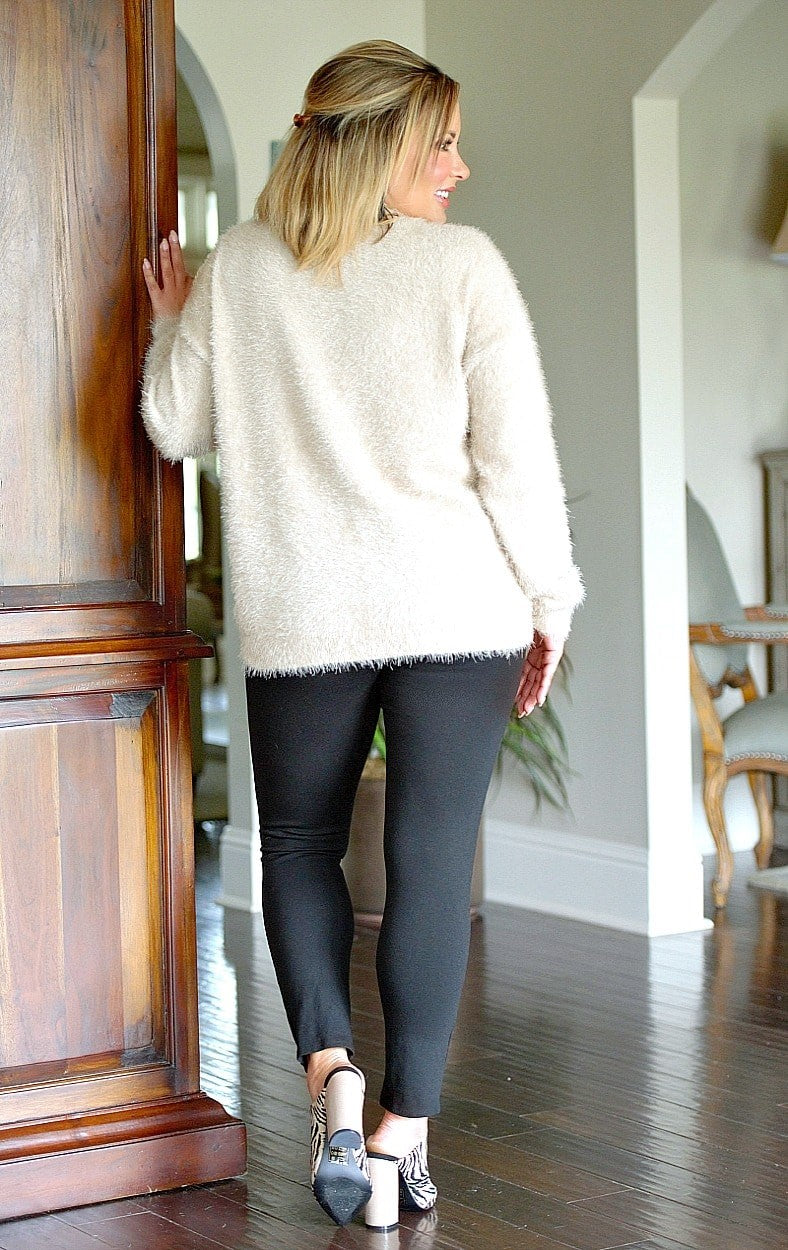 Load image into Gallery viewer, Cheers To The Weekend Sweater - Taupe