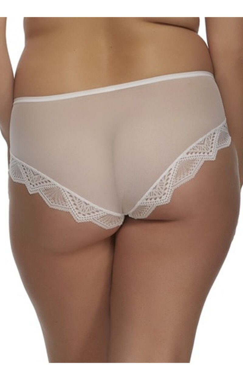 Load image into Gallery viewer, The Stunning Cutout Hipster Panty - White