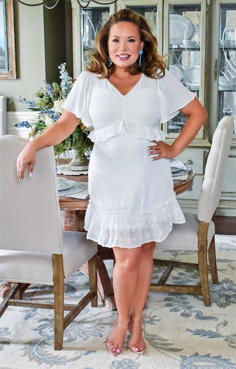 Load image into Gallery viewer, Such A Gem Dress - White