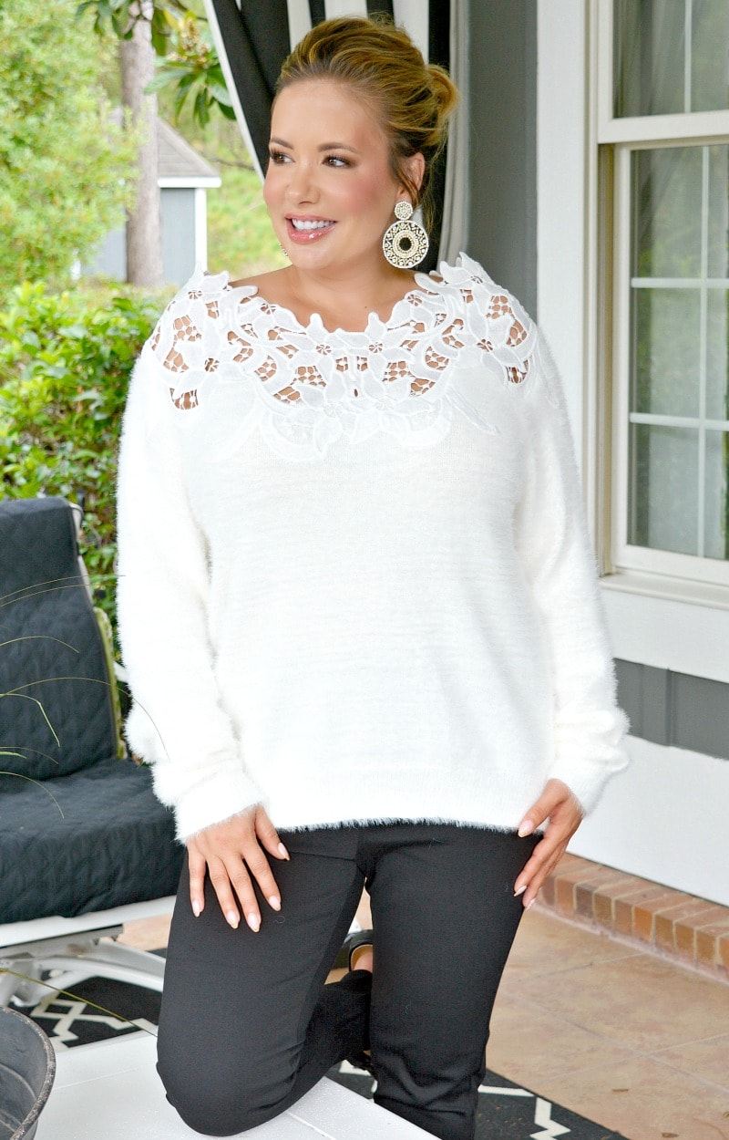 Load image into Gallery viewer, In The Long Run Sweater - Ivory