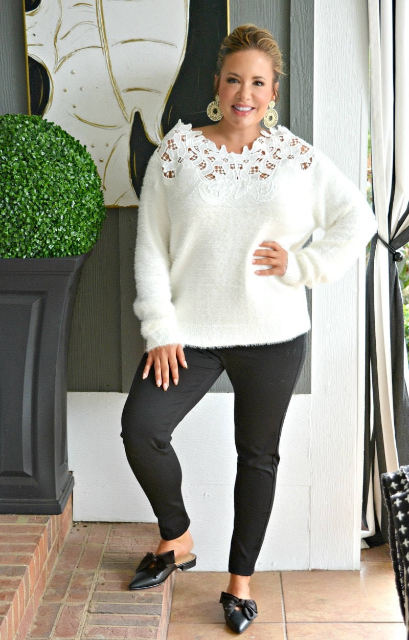 In The Long Run Sweater - Ivory