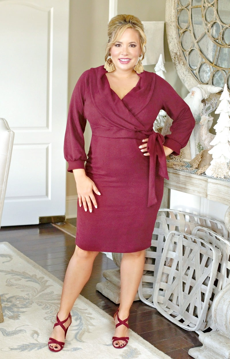 Load image into Gallery viewer, High Standards Dress - Burgundy
