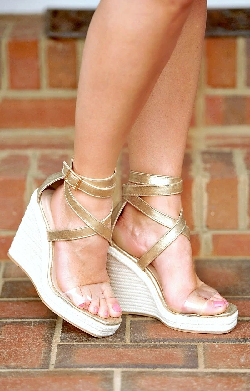 Better Work It Wedges - Gold