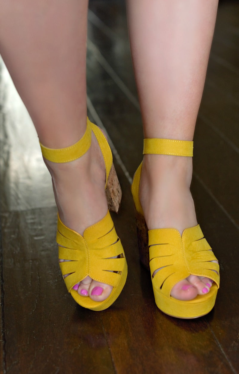 One Above Heels - Yellow