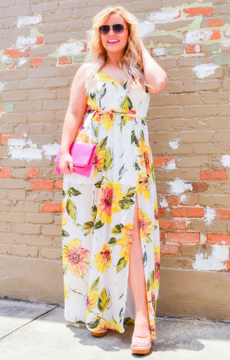 Personal Touch Floral Maxi Dress