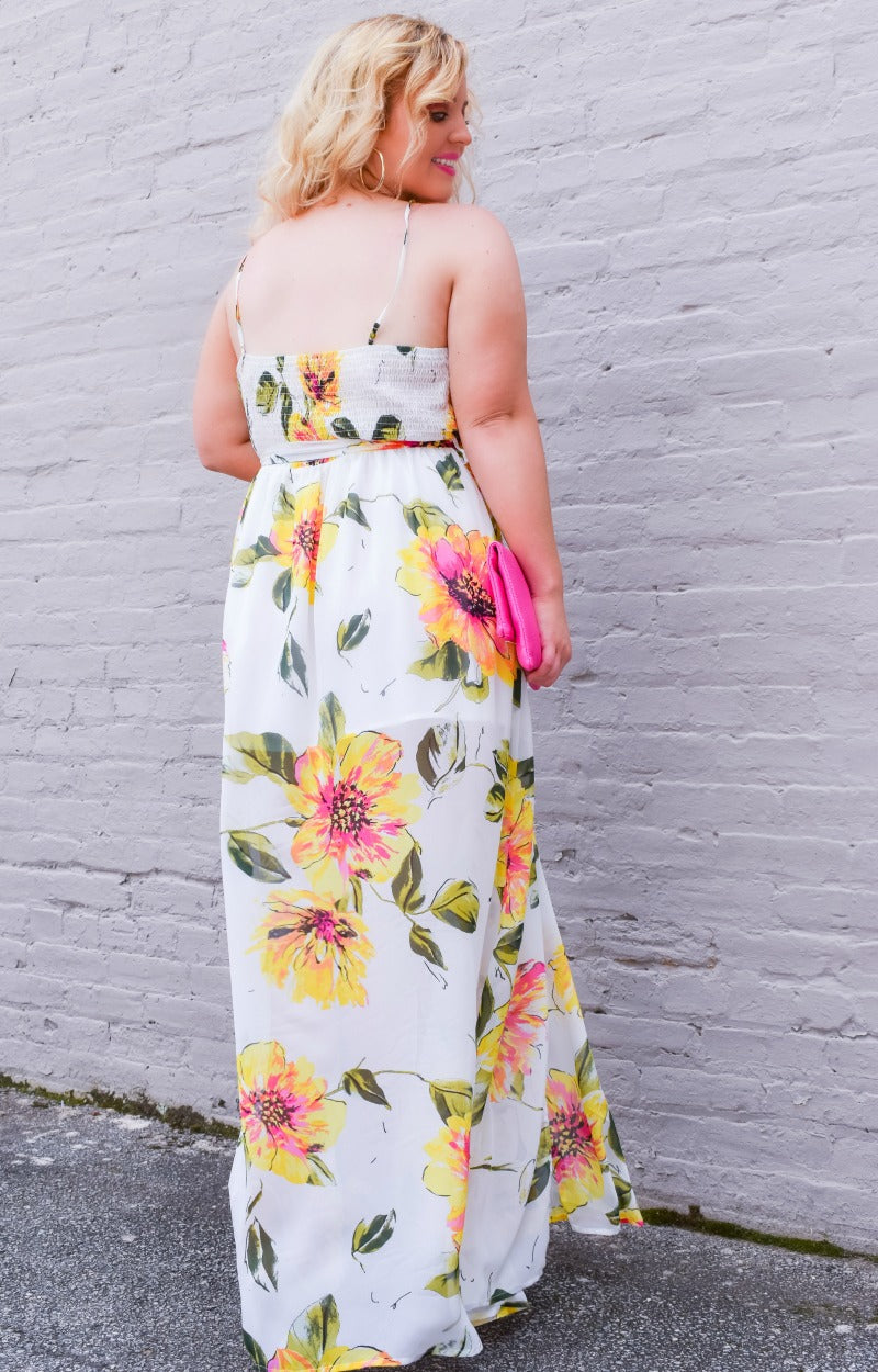 Load image into Gallery viewer, Personal Touch Floral Maxi Dress