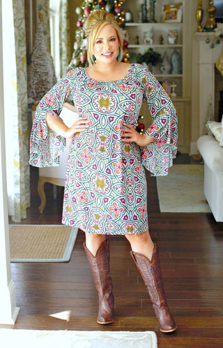 Your Romance Print Dress - Multi