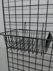 Shallow Basket - Grid Wall