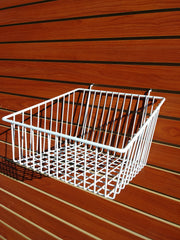 Slope Front Basket - Slat Wall
