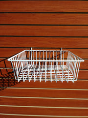 Shallow Basket - Slat Wall
